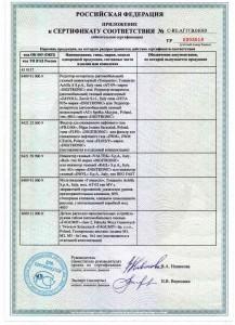 Сертификаты 18
