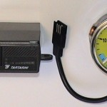 Манометр с индикатором уровня и переключетелем