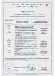 Сертификаты 52