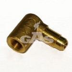 Уголовой выход для тороидального мультиклапана д. 6 мм