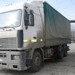 Установка газобаллонного оборудования на МАЗ