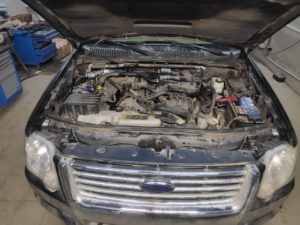 ГБО (пропан) на FORD EXPLOVER V6 3
