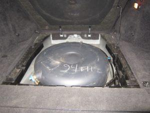 ГБО (пропан) на Range Rover 1