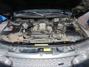 ГБО (пропан) на Range Rover 5