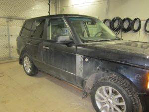 ГБО (пропан) на Range Rover 6