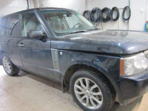 ГБО (пропан) на Range Rover 7