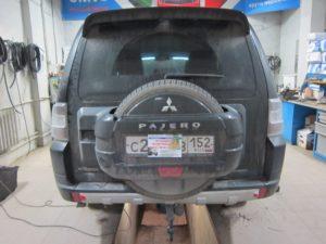 ГБО (пропан) на Mitsubishi Pajero