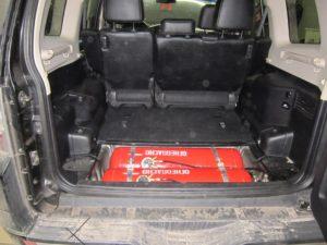 ГБО (пропан) на Mitsubishi Pajero 3