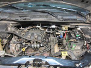 Установка ГБО (пропан) на Chrysler V6 1