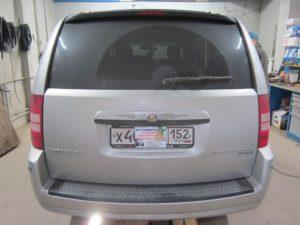 Установка ГБО (пропан) на Chrysler V6 3