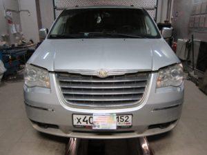 Установка ГБО (пропан) на Chrysler V6 4