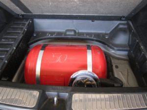 Установка ГБО (пропан) на Mercedes-Benz GLK 280 V6 1