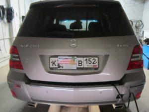 Установка ГБО (пропан) на Mercedes-Benz GLK 280 V6 2