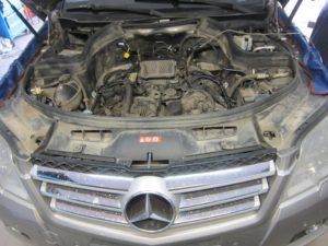 Установка ГБО (пропан) на Mercedes-Benz GLK 280 V6 3