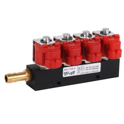 Инжекторная рейка 4 цилиндра Valtek тип 30.